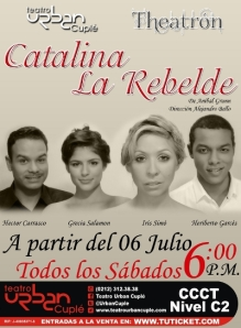 catalina, la rebelde afiche (1)